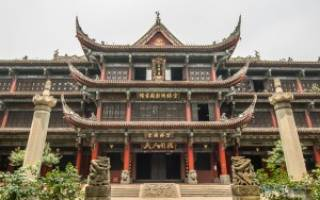 Китайские монастыри высоко в горах. Китайские монастыри и храмы как колыбель древних религий