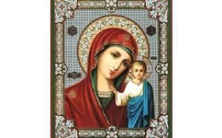 Образы божьей матери в иконах названия. Иконы Божьей матери: фото и описание и значение