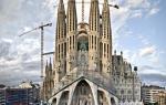 Антонио гауди собор саграда фамилия. Саграда фамилия – знаменитый долгострой Гауди в Барселоне
