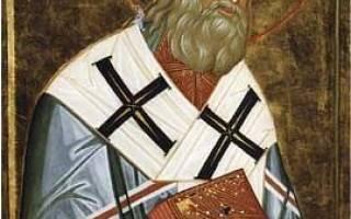 Филарет дроздов митрополит. Святитель Филарет, митрополит Московский (†1867)