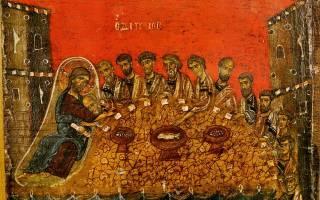 Молитва перед едой во время поста. Какие молитвы надо читать дома в Великий пост? Краткая молитва перед вкушением пищи