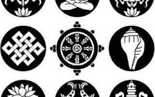 Буддийские картины. Символы буддизма и их значение