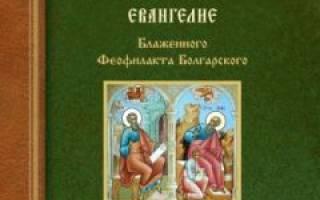 Евангелие от иоанна глава 16. Толкование на Евангелие от Иоанна (Блаженный Феофилакт Болгарский)