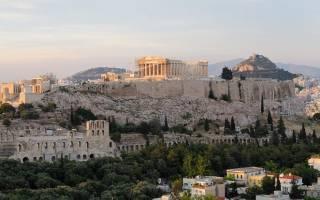 В каком государстве находится храм парфенон. Акрополь