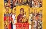 День торжества православия. История праздника торжества православия