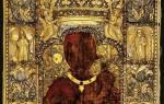 Панагия сумела монастырь. Икона Божией Матери «Оранта