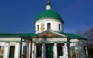 Храм Троицы Живоначальной на Воробьевых горах. Храм Святой Живоначальной Троицы