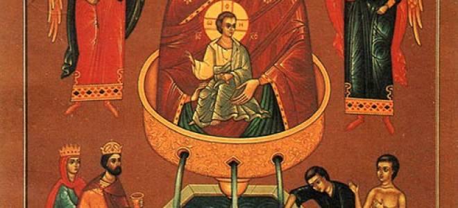 О чем молиться перед иконой «Живоносный источник»? Чудотворная икона божией матери живоносный источник.