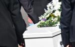 Покойник улыбается в гробу. Действия покойника по соннику