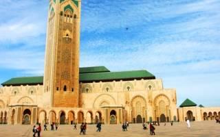 Самая знаменитая мечеть. Великая мечеть Хассана II, Касабланка