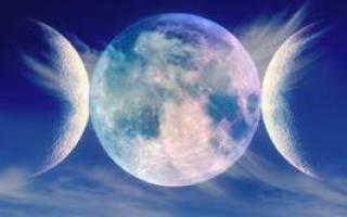 Что значит первая четверть луны. Третья четверть луны