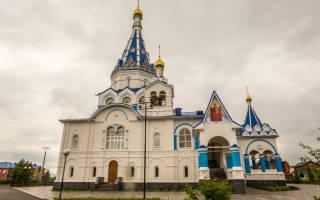 Храм Державной иконы Божией Матери г. Ижевск
