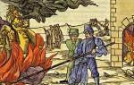 Ученые погибшие от инквизиции. Пять самых известных жертв инквизиции