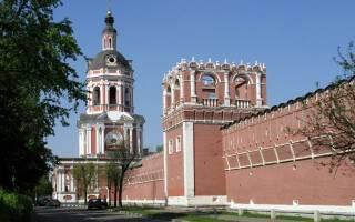 Монастырь на шаболовке. Донской монастырь