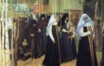 Раскол Русской православной церкви в XVII в. Движение старообрядцев