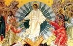 И сущим во гробех живот даровав перевод. Молитва христос воскресе из мертвых смертию смерть поправ
