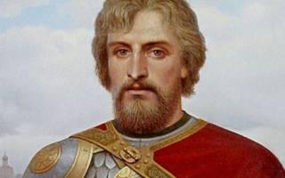 Александр невский дни празднования. Святой благоверный князь Александр Невский (†1263)