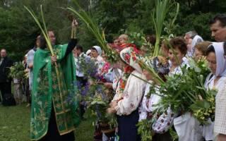Когда троица в году у православных. Приметы на троицу