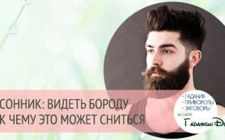 Видеть во сне мужа с бородой. К чему снится Борода? Сонник К.Холла Толкование сна Борода