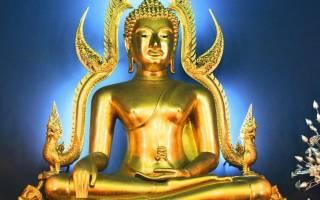 Картины буддизма. Происхождение изображения будды