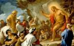 История иоанна крестителя кратко. Почитание Иоанна Крестителя в исламе
