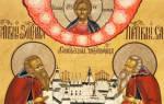 Церковный календарь 21 августа. Память преподобных Зосимы и Савватия Соловецких