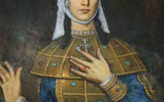 Житие царицы тамары грузинской. Акафист святой благоверной царице тамаре