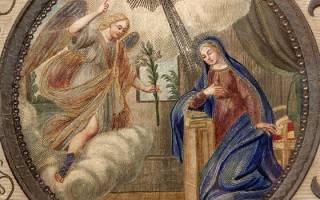 Когда праздник благовещенье в 18 году. Благовещение — число и дата, традиции