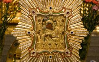 Что означает икона почаевской божьей матери. Икона Пресвятой Богородицы «Почаевская