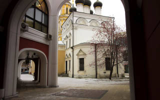 Церковь на третьяковской николая чудотворца. Храм у третьяковской галереи