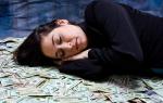 Видеть во сне купюры денег. Что значит видеть во сне крупные деньги женщине и мужчине