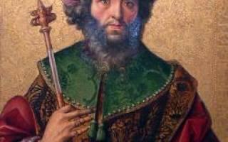 Давид библейский герой. Царь Давид — биография, история жизни царя: С пращой и арфой