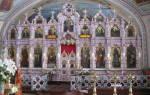Фаянсовый иконостас церкви преображения господня в саввино. Изразцовые иконостасы